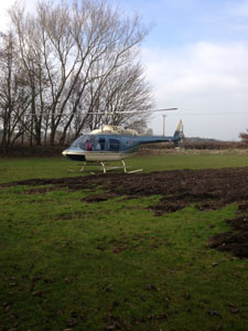 Even Helicopters turned up for Cholmondeley Brunch. Bloody marvellous!!