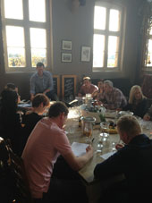 OUR GIN CHAMP STRUAN LEADS ANOTHER CLASS!!